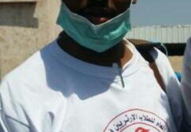 رئيس قافلة الاتحاد العام الصحية لأم قرقور الأستاذ عمر عثمان تولا :