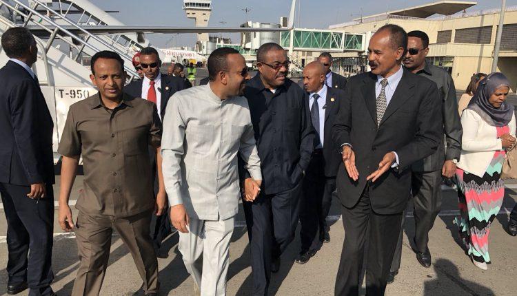 مقطع فيديو يتحدث عن حماية الجيش الإثيوبي لرأس النظام أسياس أفورقي
