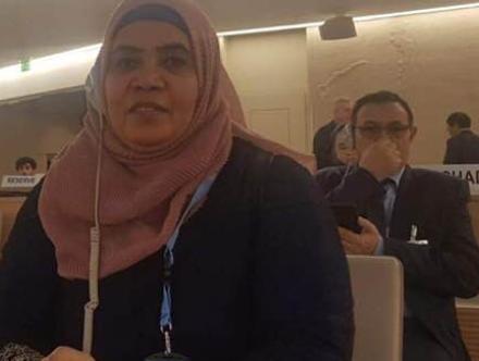 """أ.مكة إسماعيل لــ """" زينا """" : النظام يحاول سحب البساط عن المعارضة في ملف حقوق الإنسان"""