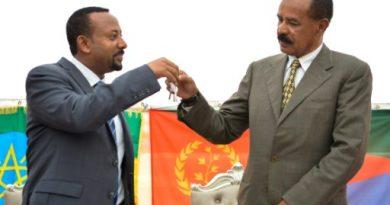 النظام الأرتري يغلق المنفذ الحدودي مع إثيوبيا في إقليم جنوب البحر الأحمر