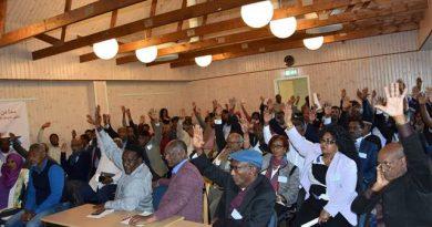 المجلس الوطني الأرتري للتغيير الديمقراطي يختار قيادة تشريعية من 61 عضواً  وتنفيذية من 7 أعضاء.