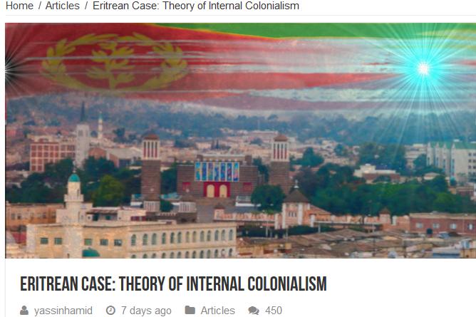 هل تنطبق على الوضع الأرتري :  نظرية الاستعمار الداخلي  …                   (  Eritrean Case: Theory of Internal Colonialism)  بقلم الأستاذ يس حامد – موقع عواتي دوت كوم  .